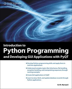 Introduction to Python Programming and Developing GUI Applications with PyQT (Paperback)-cover