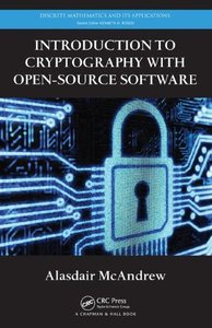 Introduction to Cryptography with Open-Source Software (Hardcover)-cover