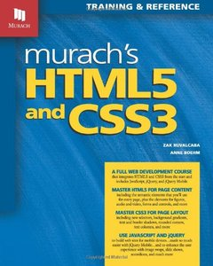 Murach's HTML5 and CSS3 (Paperback)-cover