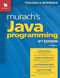 Murach's Java Programming, 4/e (Paperback)-cover
