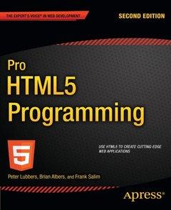 Pro HTML5 Programming, 2/e (Paperback)-cover