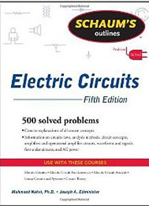 Schaum's Outline of Electric Circuits, 5/e (Paperback)-cover