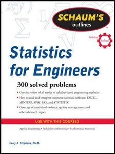 Schaum's Outline of Statistics for Engineers (Paperback)