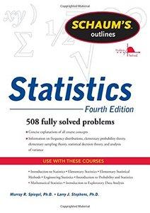 Schaums Outline of Statistics, 4/e (Paperback)