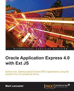 Oracle Application Express 4.0 with Ext JS (Paperback)-cover