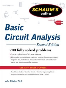 Schaum's Outline of Basic Circuit Analysis, 2/e (Paperback)-cover