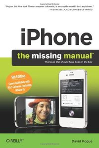 iPhone: The Missing Manual, 5/e (Paperback)-cover