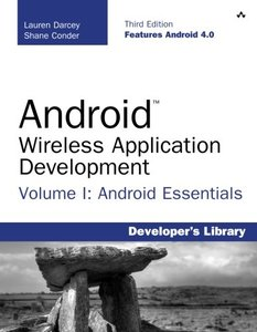 Android Wireless Application Development Volume I: Android Essentials, 3/e (Paperback)-cover