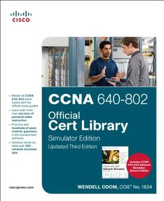 CCNA 640-802 Official Cert Library, Simulator Edition, Updated, 3/e (Hardcover)-cover