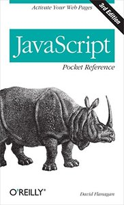 JavaScript Pocket Reference, 3/e (Paperback)-cover
