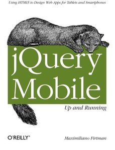 jQuery Mobile: Up and Running (Paperback)-cover