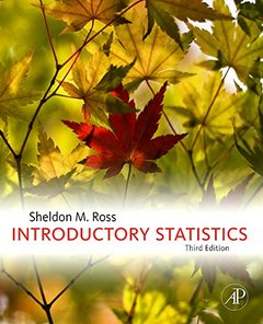 Introductory Statistics, 3/e (Hardcover)-cover