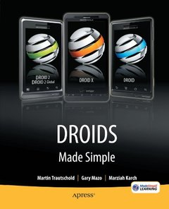 Droids Made Simple: For the Droid, Droid X, Droid 2, and Droid 2 Global (Paperback)-cover