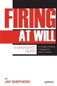 Firing at Will: A Manager's Guide (Paperback)-cover