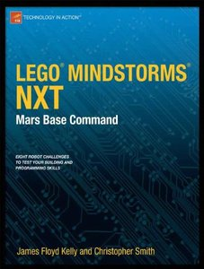 LEGO MINDSTORMS NXT: Mars Base Command (Paperback)-cover