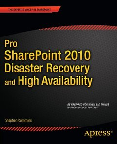 Pro SharePoint 2010 Disaster Recovery and High Availability (Paperback)-cover
