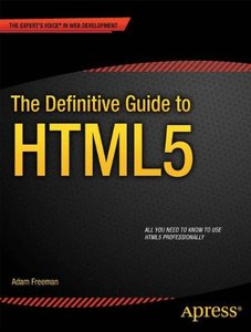 The Definitive Guide to HTML5 (Paperback)-cover
