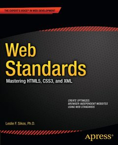 Web Standards: Mastering HTML5, CSS3, and XML (Paperback)-cover