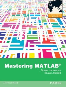 Mastering MATLAB 8 (IE-Paperback)-cover