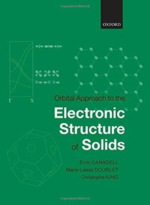 Orbital Approach to the Electronic Structure of Solids (Hardcover)-cover