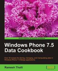 Windows Phone 7.5 Data Cookbook (Paperback)-cover
