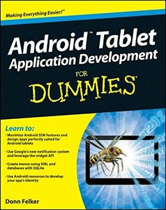 Android Tablet Application Development For Dummies (Paperback)-cover