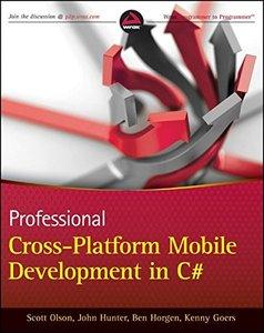 Professional Cross-Platform Mobile Development in C# (Paperback)-cover
