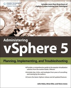 Administering vSphere 5: Planning, Implementing and Troubleshooting (Paperback)-cover