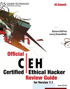 Official Certified Ethical Hacker Review Guide: For Version 7.1 (Paperback)-cover
