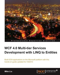 WCF 4.0 Multi-tier Services Development with LINQ to Entities-cover