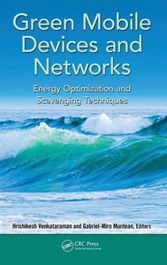 Green Mobile Devices and Networks: Energy Optimization and Scavenging Techniques (Hardcover)-cover