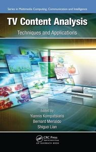 TV Content Analysis: Techniques and Applications (Hardcover)-cover