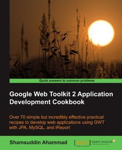Google Web Toolkit 2 Application Development Cookbook (Paperback)-cover
