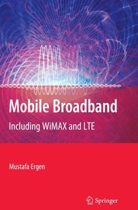 Mobile Broadband: Including WiMAX and LTE (Paperback)-cover