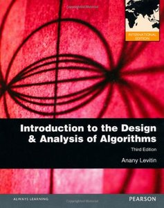 Introduction to the Design and Analysis of Algorithms, 3/e (IE-Paperback)-cover