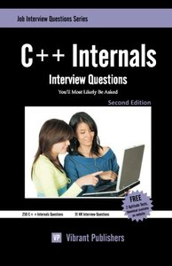 C++ Internals Interview Questions You'll Most Likely Be Asked (Paperback)-cover