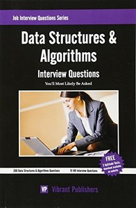 Data Structures & Algorithms Interview Questions You'll Most Likely Be Asked (Paperback)-cover