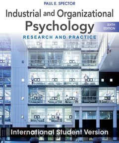 Industrial and Organizational Psychology: Research and Practice, 6/e (IE-Paperback)-cover
