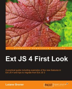Ext JS 4 First Look (Paperback)-cover
