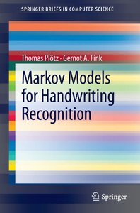 Markov Models for Handwriting Recognition (Paperback)-cover