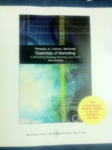 Essentials of Marketing, 13/e (IE-Paperback)-cover