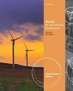 Energy: Its Use & the Environment, 5/e (IE-Paperback)-cover