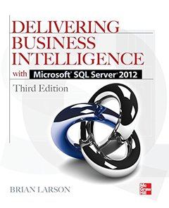 Delivering Business Intelligence with Microsoft SQL Server 2012, 3/e (Paperback)-cover