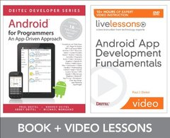Android App Development Fundamentals LiveLessons Bundle (DVD-ROM)-cover