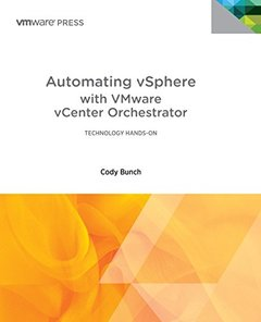 Automating vSphere: With VMware vCenter Orchestrator (Paperback)-cover