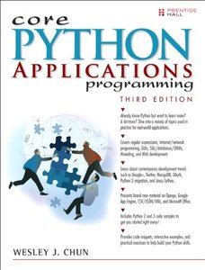 Core Python Applications Programming, 3/e (Paperback)-cover