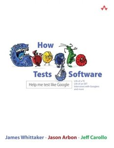 How Google Tests Software (Paperback)-cover