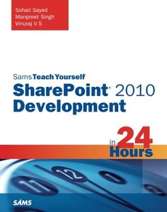 Sams Teach Yourself SharePoint 2010 Development in 24 Hours (Paperback)-cover