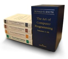 The Art of Computer Programming, Volumes 1-4A Boxed Set (Hardcover)-cover