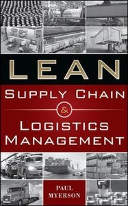 Lean Supply Chain and Logistics Management (Hardcover)-cover